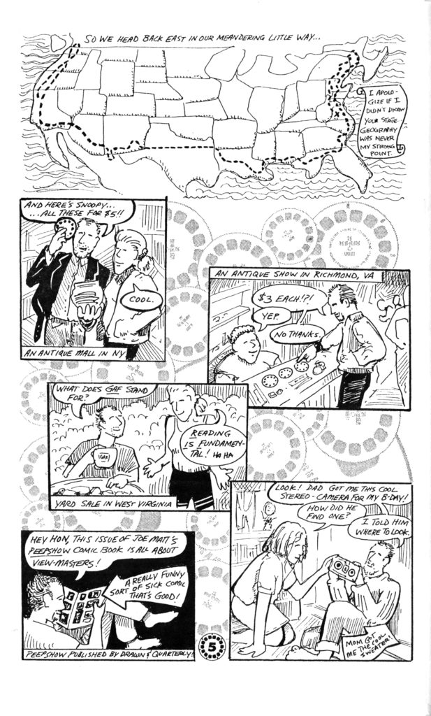 Adhousebooksblog a comic i did back in 1993 for review the view master tru vue collectors assn solutioingenieria Choice Image